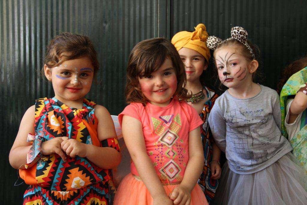 fiesta de disfraces infanti