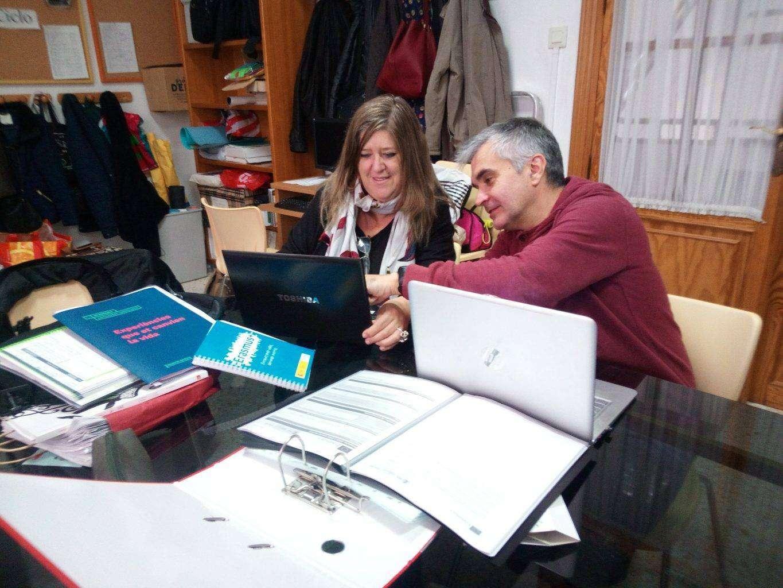 Profesores Pureza de María Grao trabanado en el proyecto erasmus plus