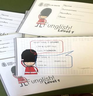 proyecto inglés colegio Pureza de María Grao