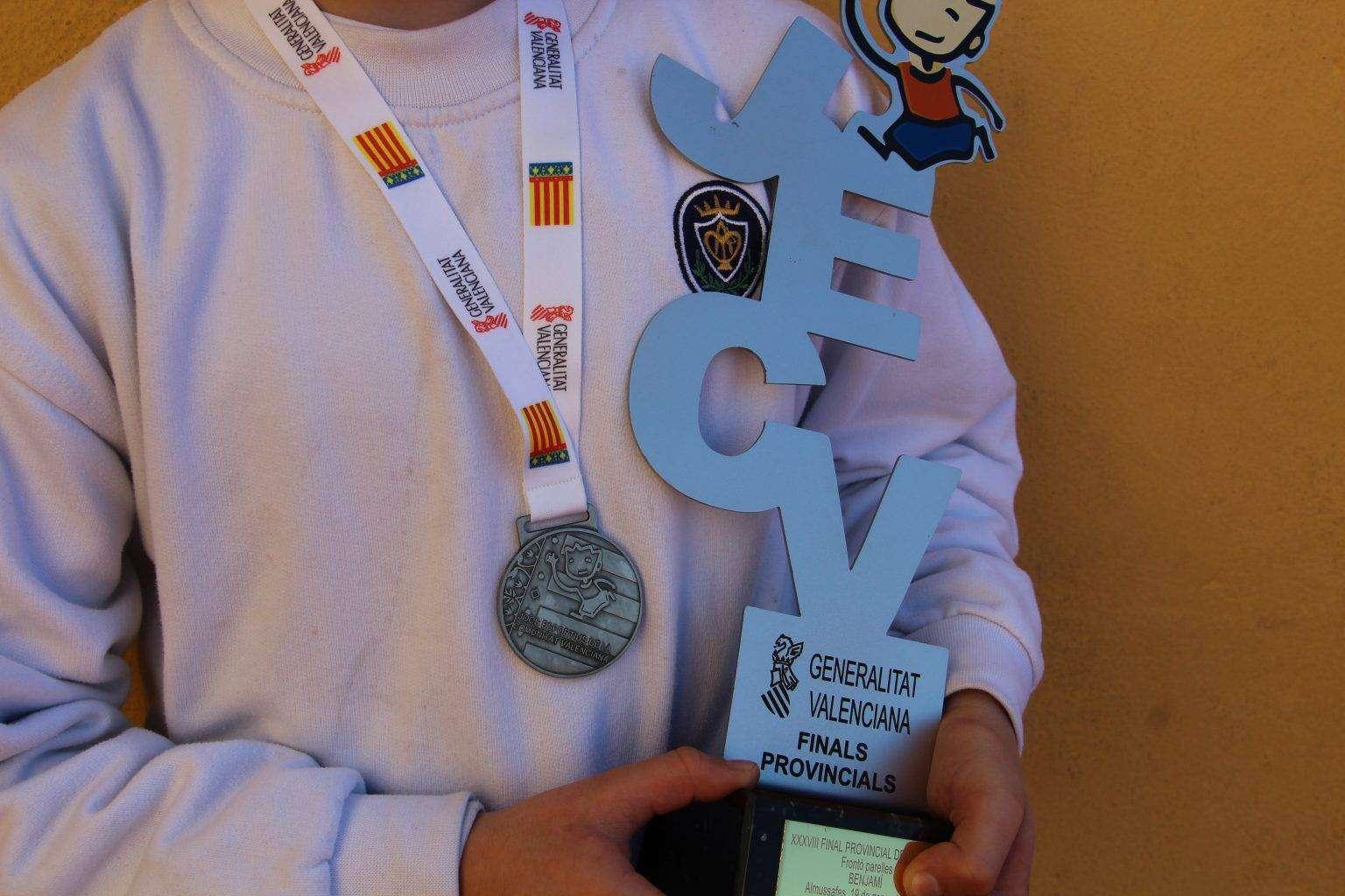 copa de oro benjamín Pilota valenciana